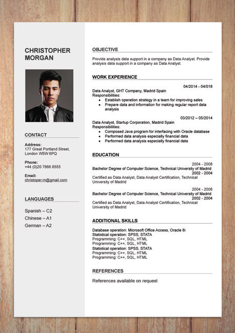 23 Lovely Free Cv Template Download for Graphics