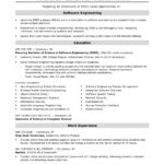 25 New Software Engineer Cv with Ideas