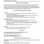 25 Nice Experienced Teacher Resume Examples with Pics