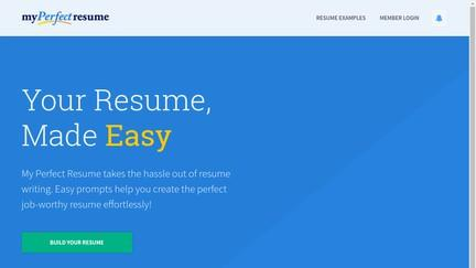 26 Awesome My Perfect Resume Cancel for Ideas