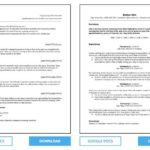 26 Best Resume Layout Microsoft Word by Pics