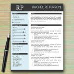 26 Nice Professional One Page Resume Template for Design