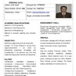 27 Cool Civil Engineer Resume for Pictures