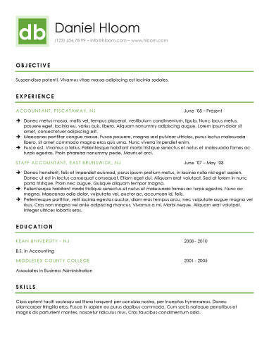 27 Lovely Modern Day Resume for Design
