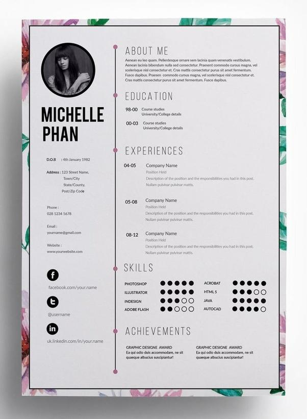 27 Top How Should My Cv Look with Design