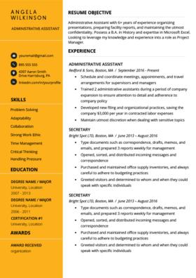 28 Beautiful The Best Free Resume Templates for Gallery