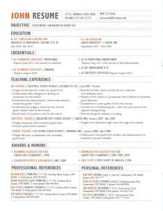 29 New Resume Layout Ideas for Gallery