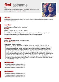 30 Awesome Free Cv Resume Builder by Pictures