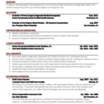 30 Awesome Sonographer Resume with Ideas