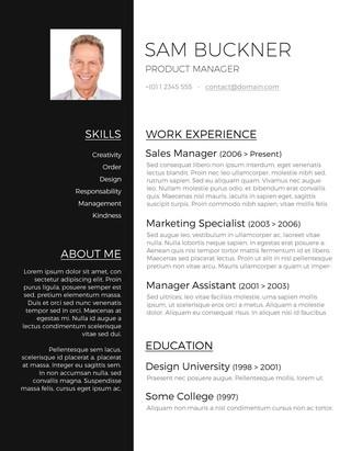 30 Beautiful Free Cv Template Download for Images