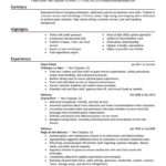 30 New Sample Resume Templates by Pics