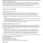 31 Best Early Childhood Education Resume Examples for Ideas