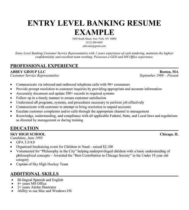 31 Cool Entry Level Information Technology Resume With No Experience by Graphics