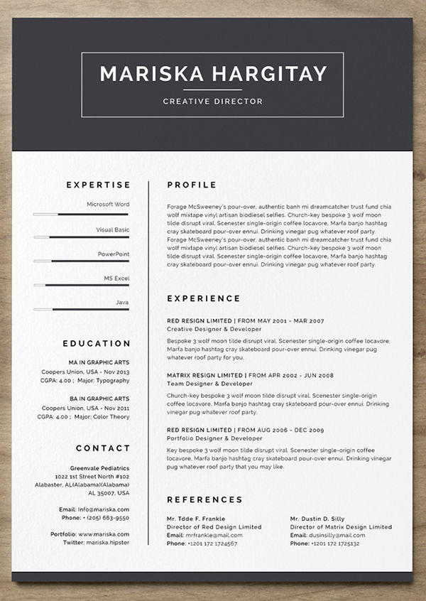31 Stunning Curriculum Template Free for Ideas