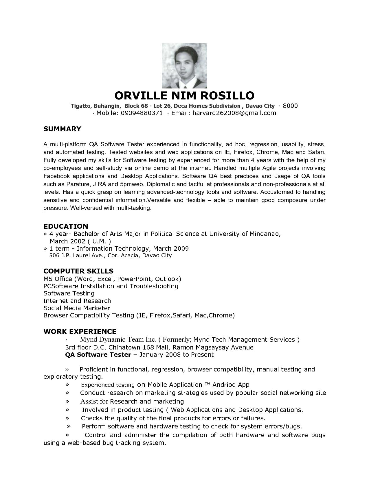 32 Beautiful Entry Level Software Engineer Resume with Gallery