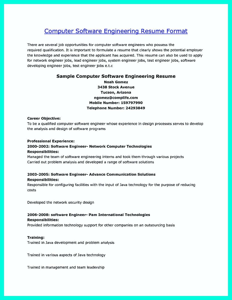 32 Fresh Computer Engineering Resume for Gallery
