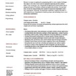 32 New Software Engineer Cv by Pictures