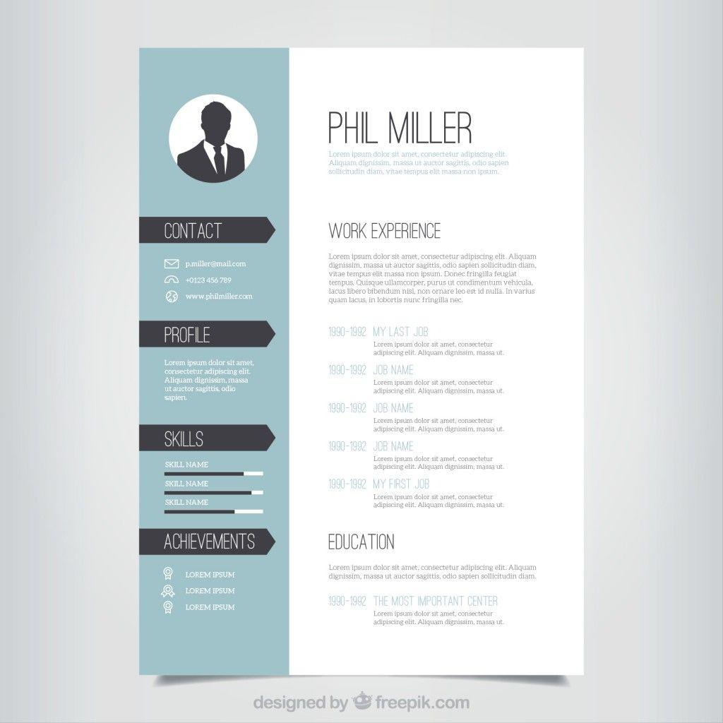33 Best Free Cv Template Download by Pics