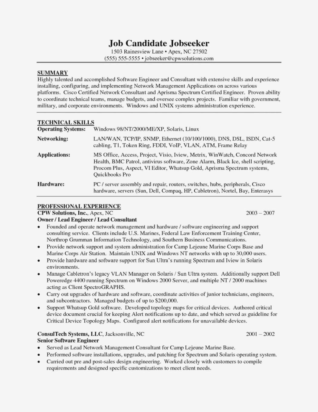 33 Excellent Software Developer Resume Summary by Design