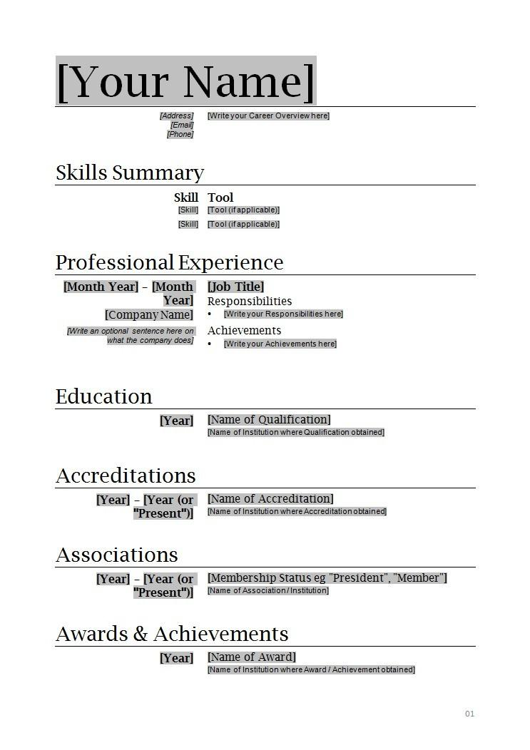 33 Fresh Make Me A Resume Online Free for Images