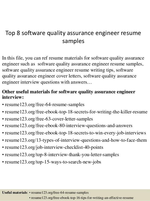 33 Inspirational Software Quality Assurance Engineer Resume for Graphics
