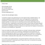 34 Cool Engineering Cover Letter by Design