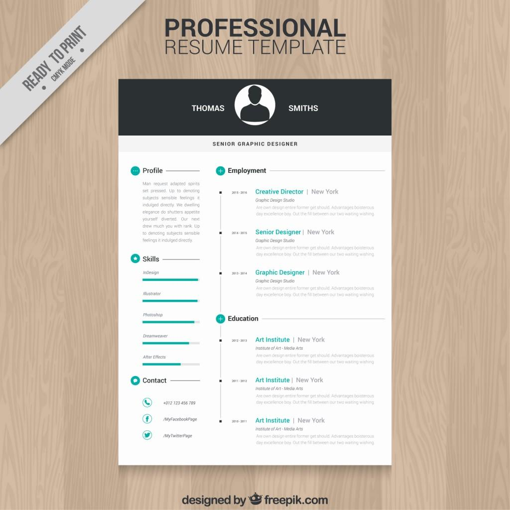 34 Cool Free Cv Template Download with Pics