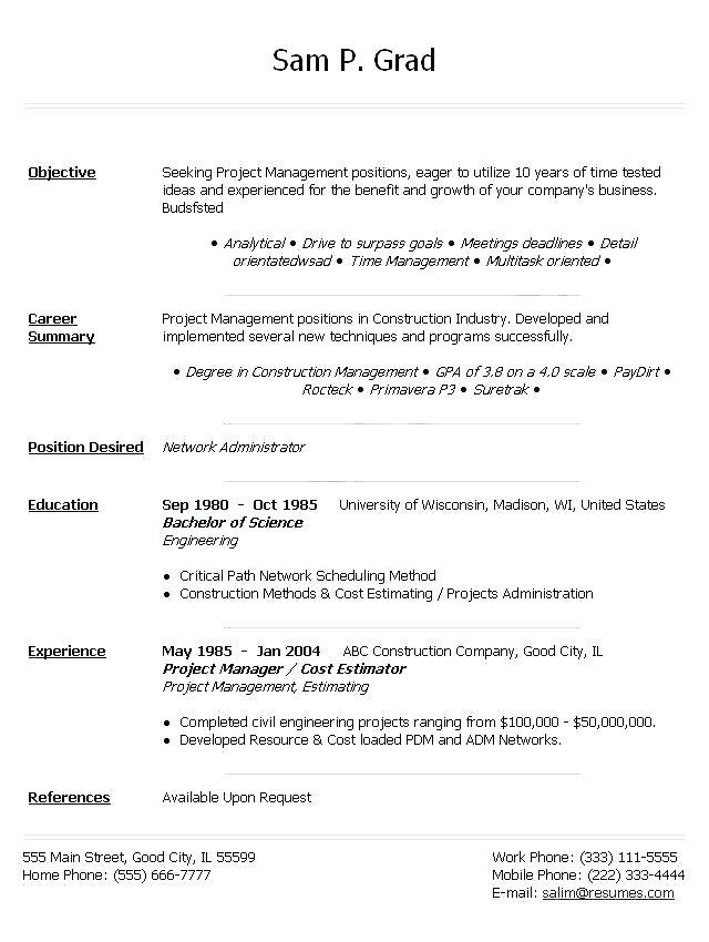 34 Great Professional Cv Template Word with Ideas