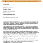 34 Lovely Engineering Cover Letter Examples for Images