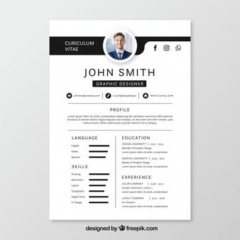 34 Stunning Graphic Resume Template with Images