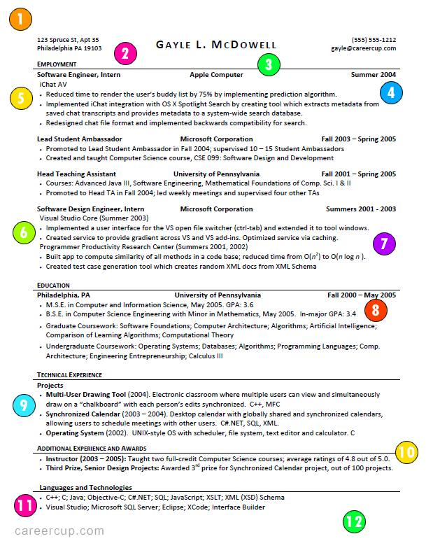 36 Best Whats The Best Resume Format To Use by Gallery