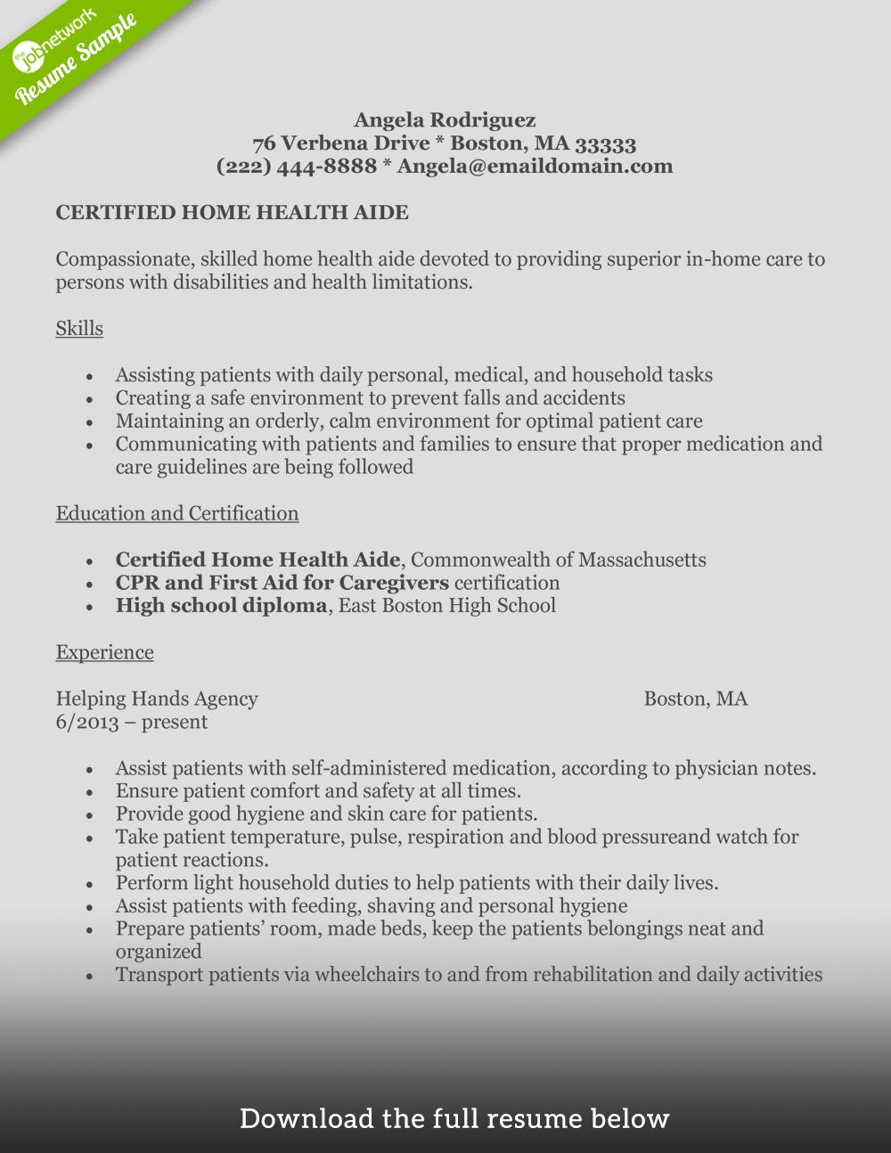36 Cool Hha Resume with Pictures