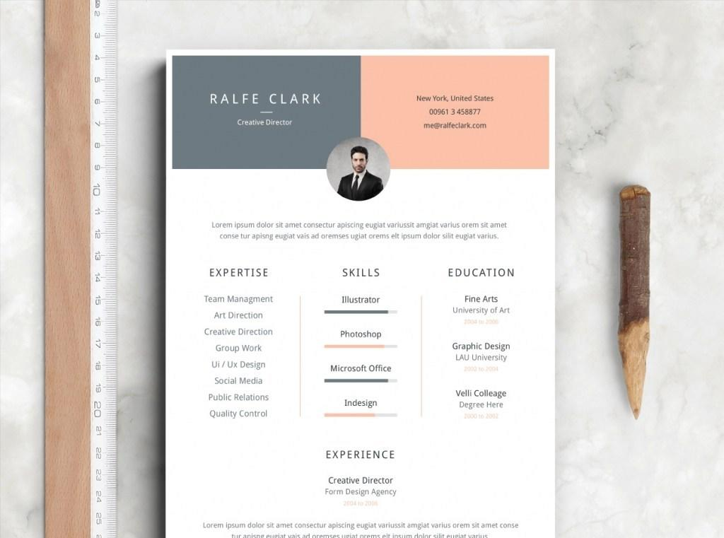 36 Stunning The Best Free Resume Templates with Pictures