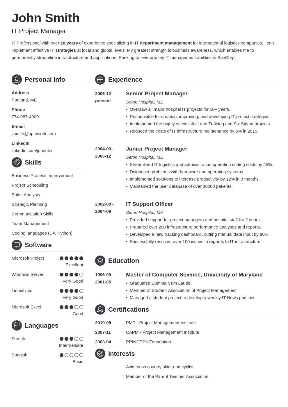37 Lovely The Perfect Resume Template by Graphics