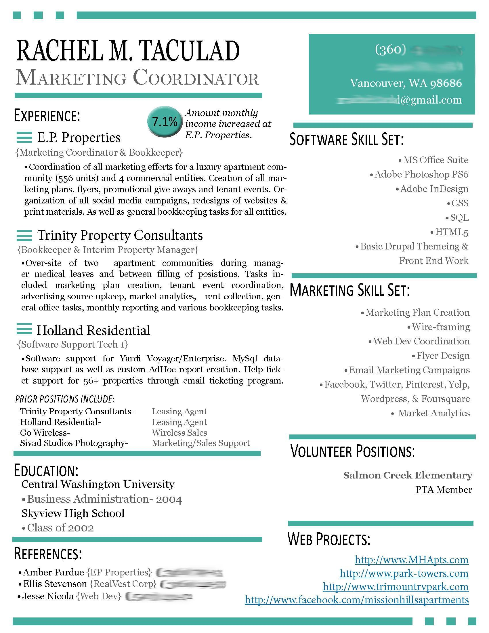 38 Great Modern Day Resume for Gallery