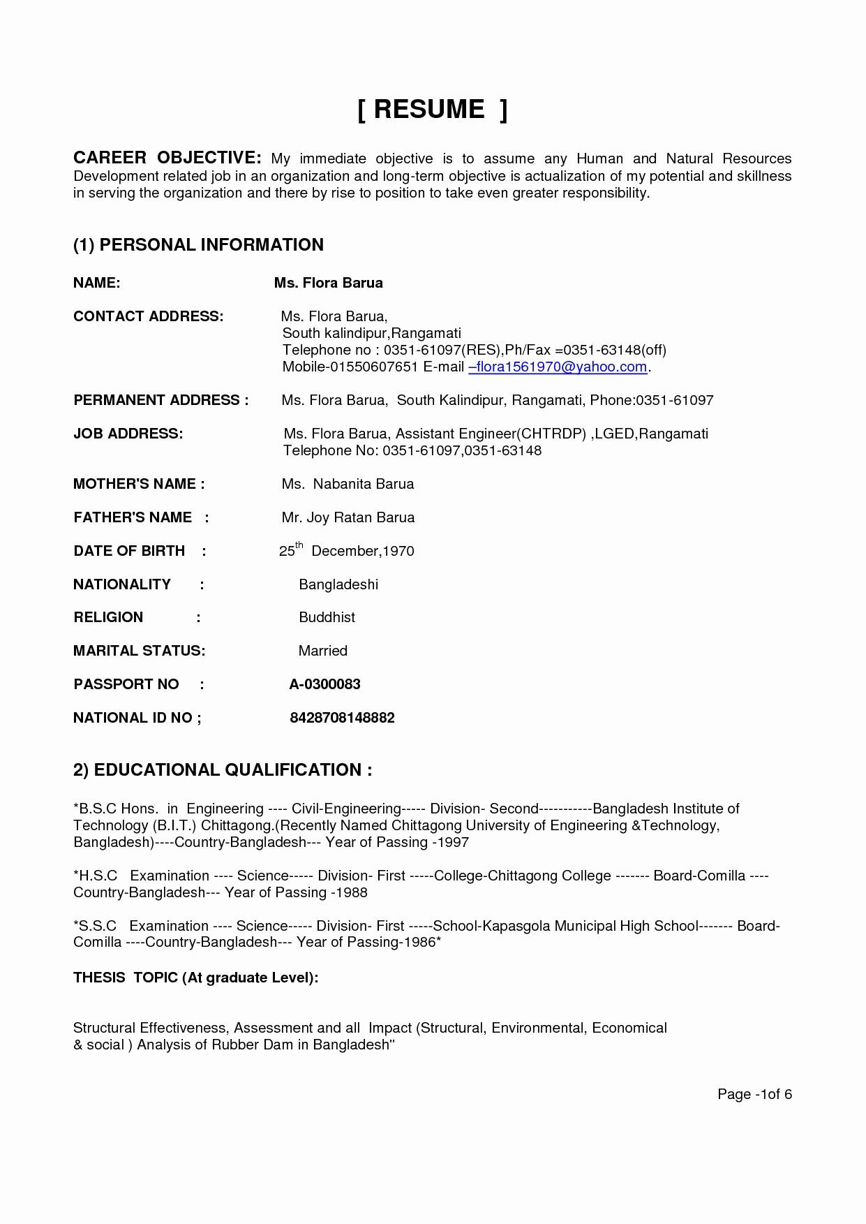 38 Lovely Electrical Engineering Resume Sample For Freshers by Gallery