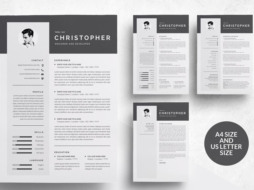 38 Lovely Modern Curriculum Vitae by Graphics