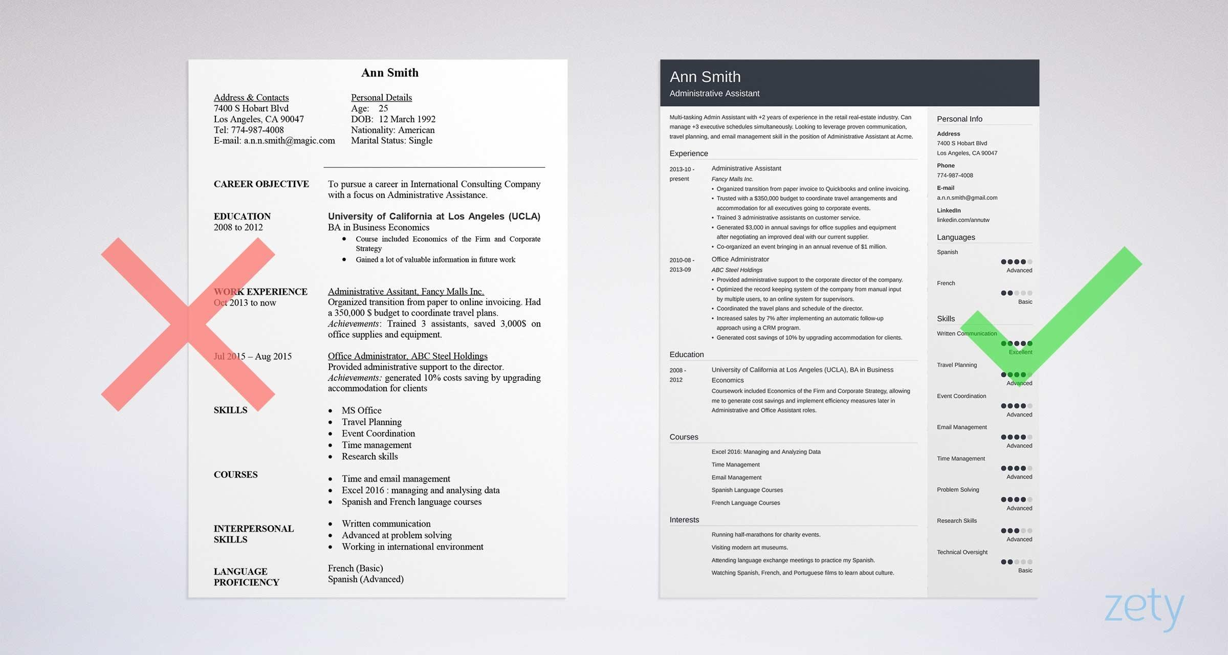 38 New Examples Of Resume Cover Letters For Administrative Assistants by Ideas