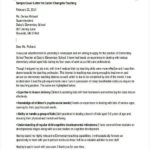 38 Nice Career Change Cover Letter for Pics