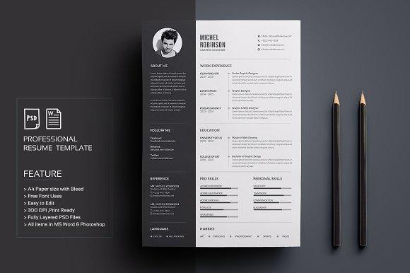 39 Best Free Creative Resume Templates Microsoft Word by Pictures