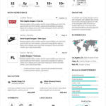 39 Fresh A One Page Resume by Ideas