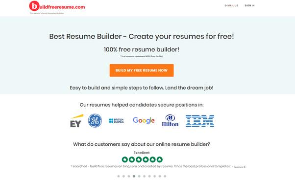 39 Great Professional Resume Builder Online Free for Pics
