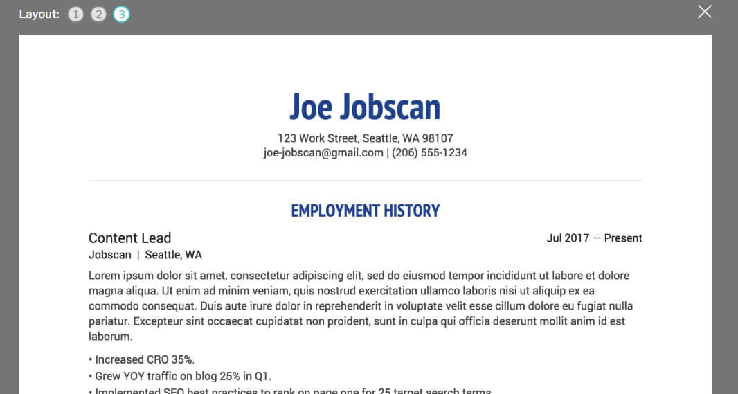 39 Lovely Best Free Cv Builder for Images