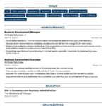 39 Nice Job Resume Template by Graphics
