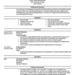 40 Best Beginner Job Application Resume Sample for Graphics