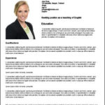 40 Cool English Cv Template with Pics