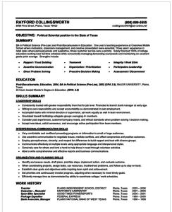 40 Great Interview Resume Format by Graphics