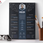 40 Inspirational Pretty Resume Templates Free with Gallery