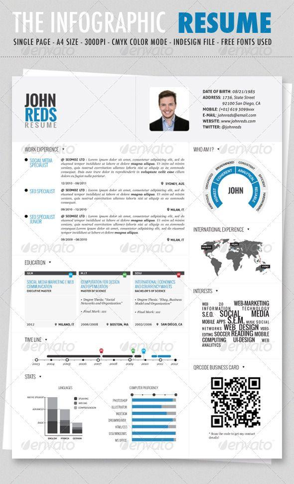 40 New Graphic Resume Template for Ideas