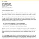 40 Top Cover Letter Template Free with Gallery